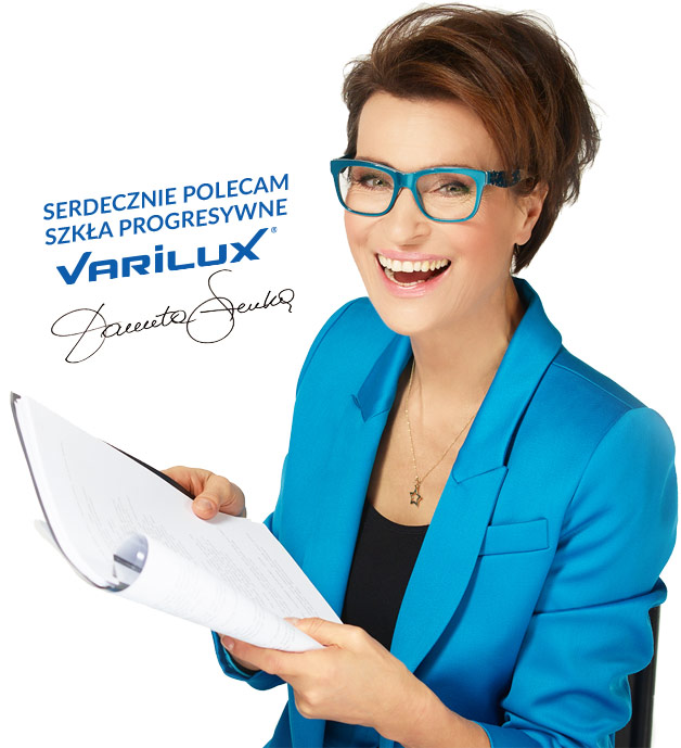 Danuta Stenka poleca szkła Varilux